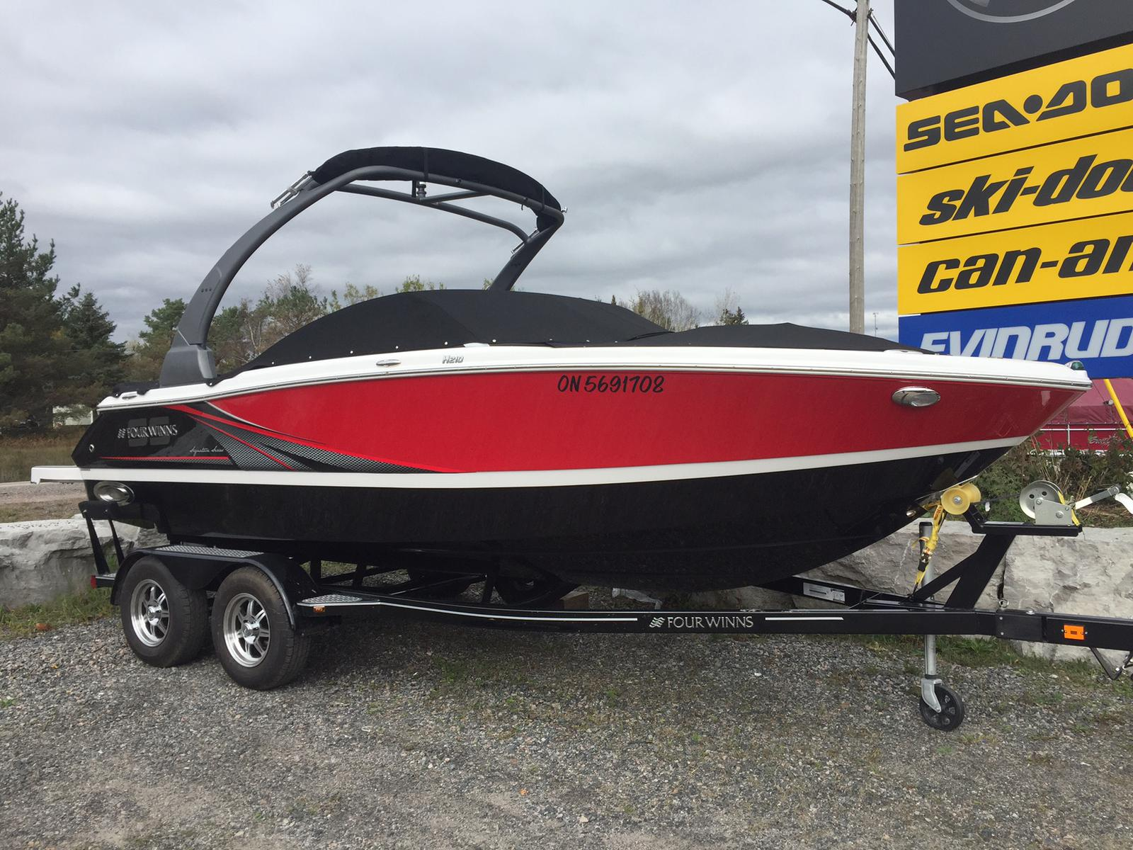 For Sale: 2017 Four Winns Mts H210s 22ft<br/>Harper Powersports And Marine- Minden