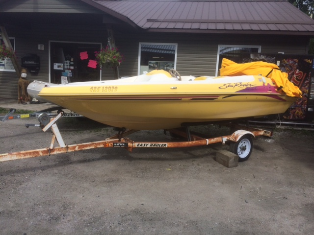 1997 SEA RAYDER boat for sale, model of the boat is Z16 ZR & Image # 1 of 3