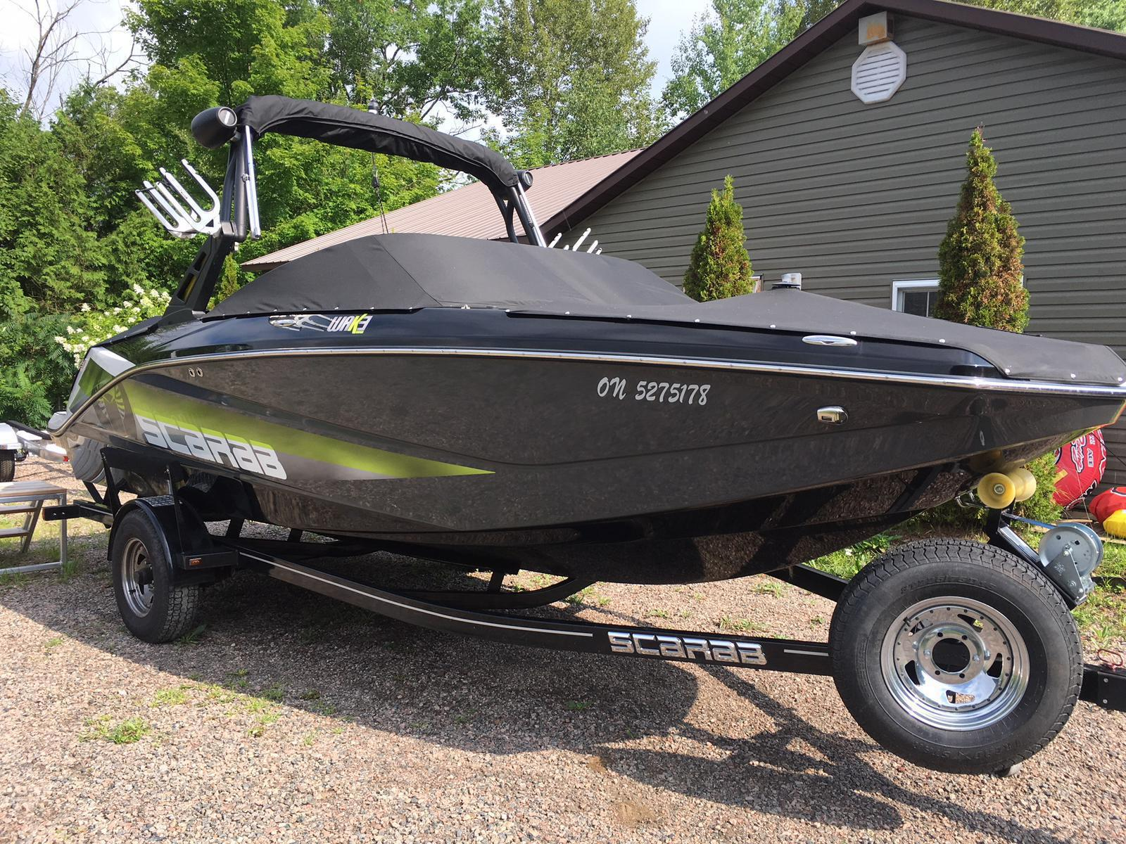 For Sale: 2016 Scarab Wake 22ft<br/>Harper Power Sports- Haliburton