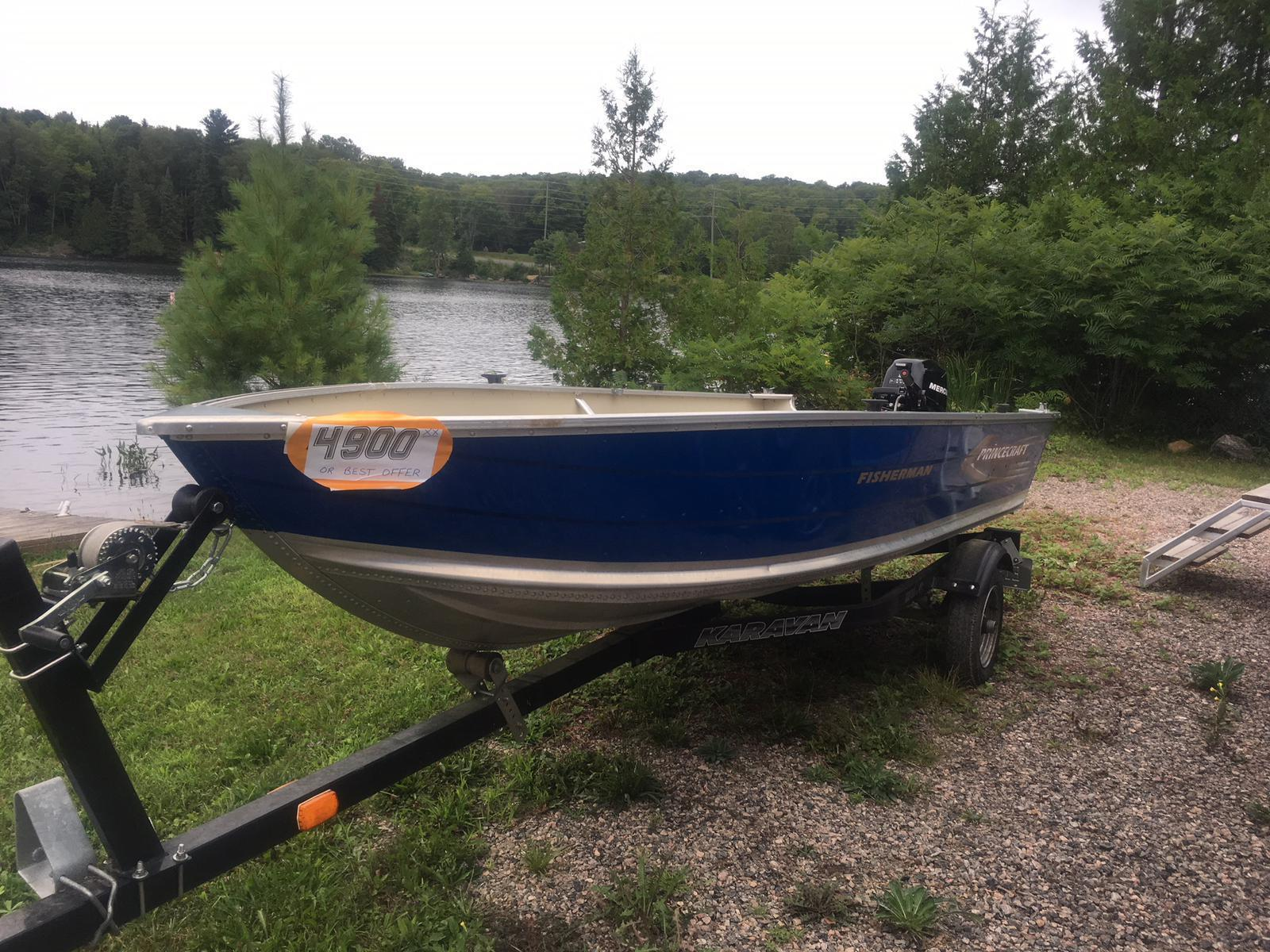 2007 PRINCECRAFT FISHERMAN for sale