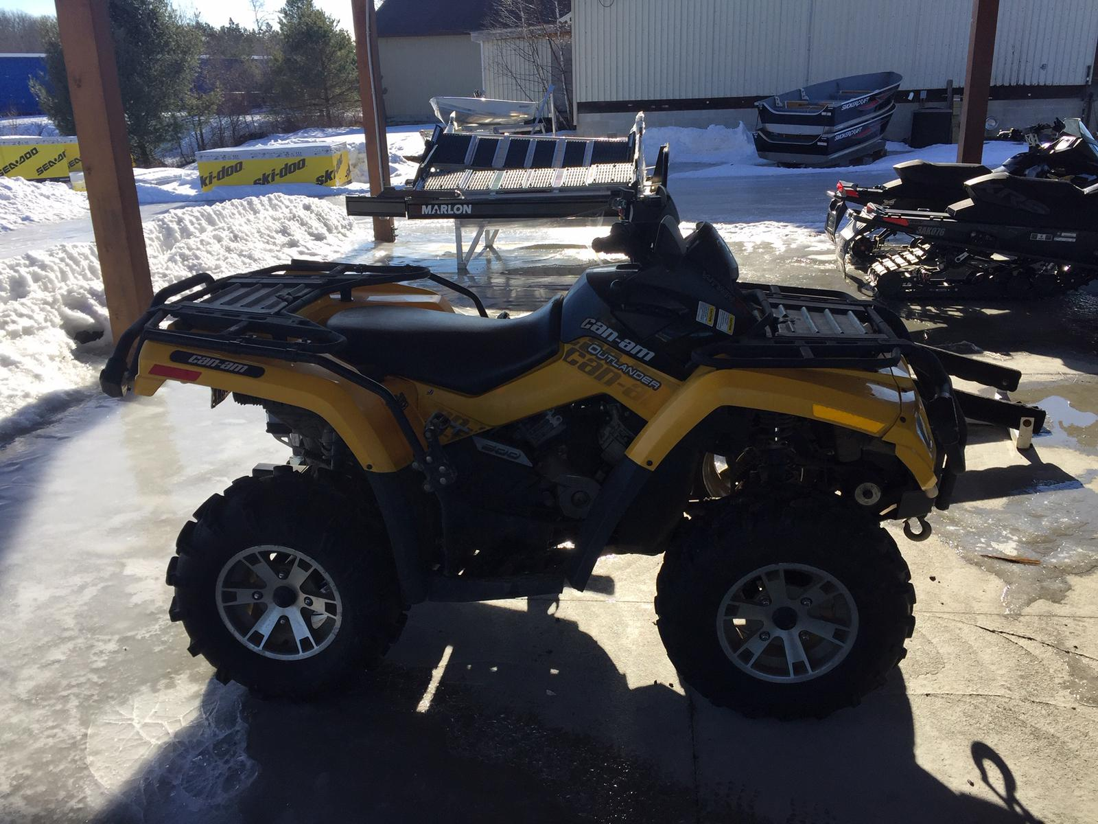 2009 Can-Am ATV OUTLANDER XT 500 | 1 of 2