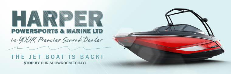 Harper PowerSports & Marine LTD is your premier Scarab dealer! Stop by our showroom today!