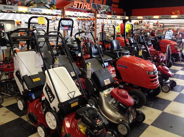 Mower Showroom