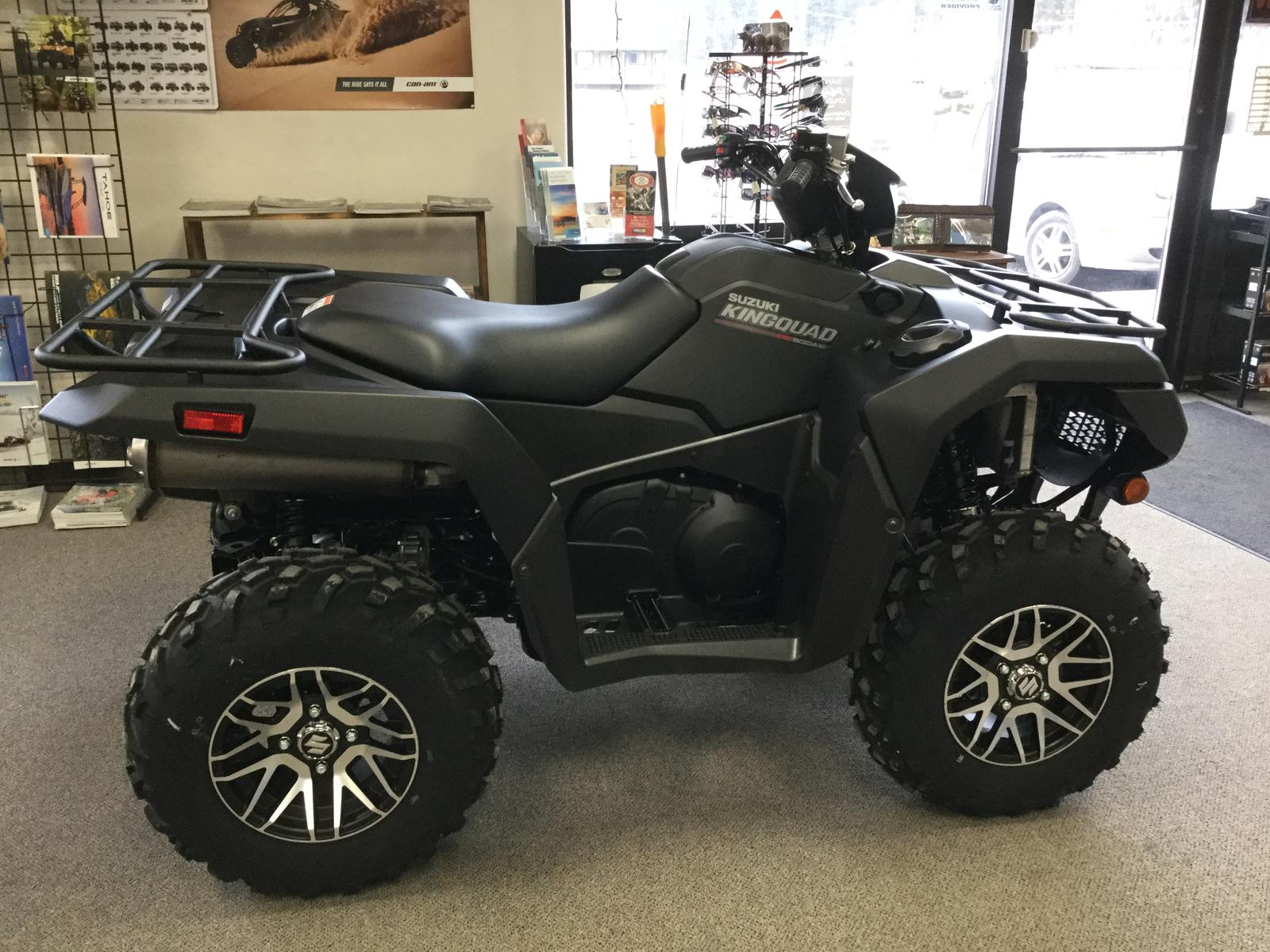 2019 Suzuki KINGQUAD 500 POWER STEERING BLACK SE+