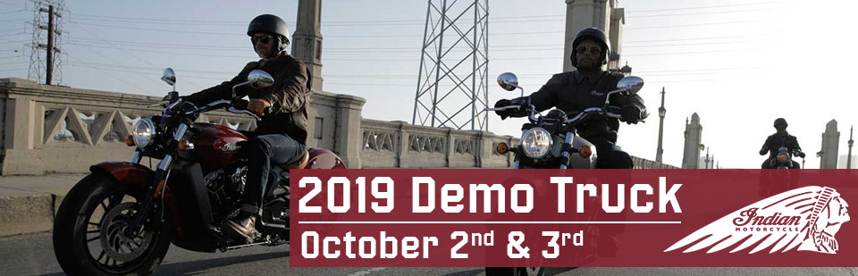 2019 Indian Motorcycle Demo Truck