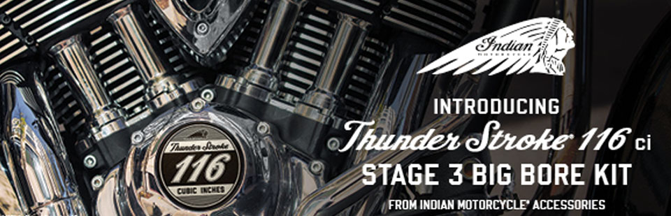 The new Thunderstroke 116 from Indian Motorcycle
