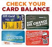 Check your card balance here.