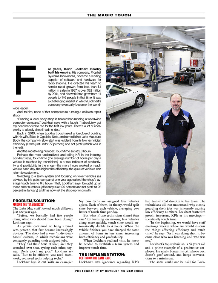 Lake Mac Auto - Focusing on touch time to grow auto business