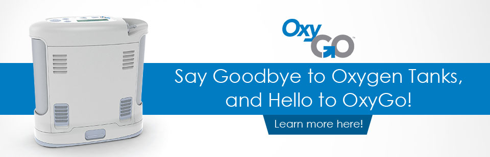 Say Goodbye to Oxygen Tanks, and Hello to OxyGo: Click here to learn more.