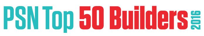 PSN Top 50 Builders 2016
