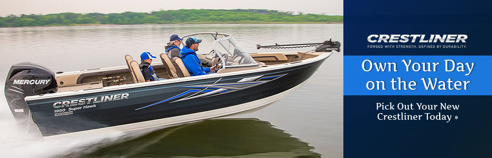 Pick out your new Crestliner today!