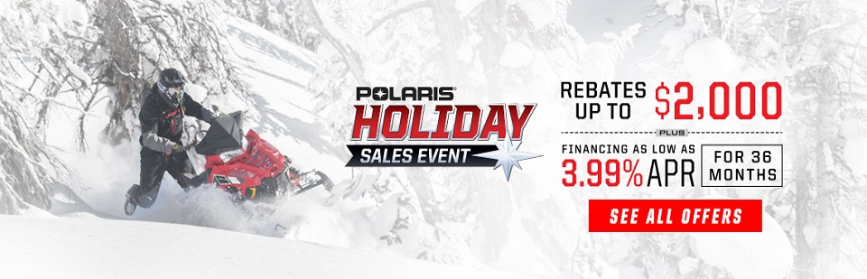Polaris Snowmobile Holiday Event