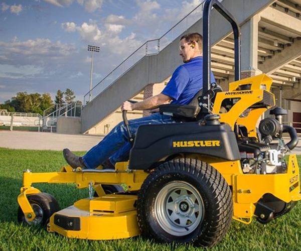 Commercial Lawn Mowers : Hustler commercial residential mowers sumner lawn n saw