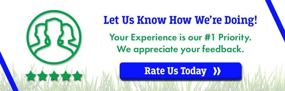 Let us know how we're doing! We're your Outdoor Power Equipment Destination!