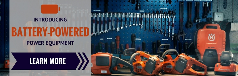Battery-Powered Outdoor Power Equipment from STIHL & Husqvarna! Including Chainsaws, Blowers & More!