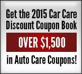 Get the 2015 Car Care Discount Coupon Book. Over $1,500 in auto care coupons!