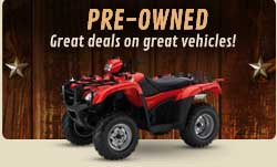 Pre-Owned: Great deals on great vehicles!