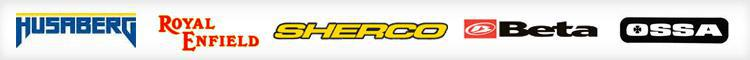 We proudly carry products from Husaberg, Royal Enfield, Sherco, Beta, and Ossa.