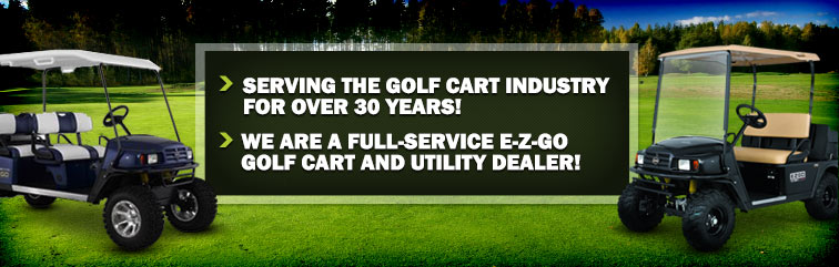 McTron Inc. has been serving the golf cart industry for over 30 years! We are a full-service E-Z-GO golf cart and utility dealer!