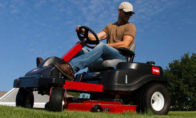 Residential Zero-Turn Lawnmowers