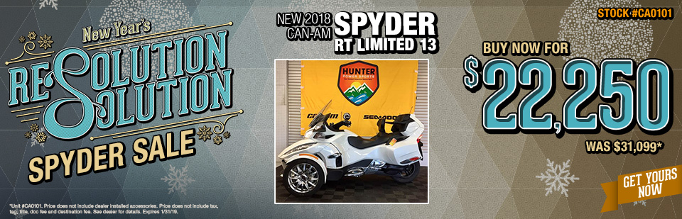 Can-Am Spyder Special Hendersonville NC
