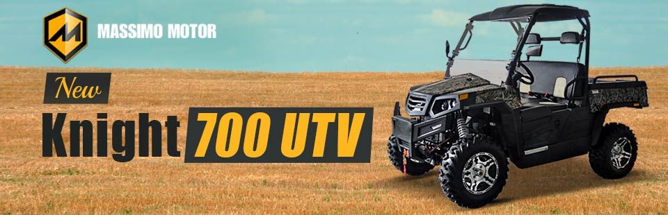 Check out the new Massimo Knight 700 UTV!