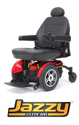 Pride Jazzy Elite HD Powered Wheelchair