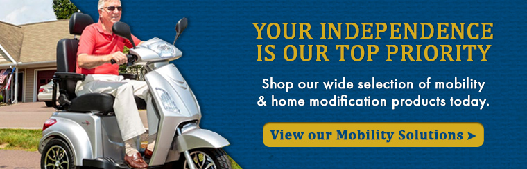 Shop Wheelchairs, Mobility Scooters, Rollators & More at Mobility First in Independence, MO.