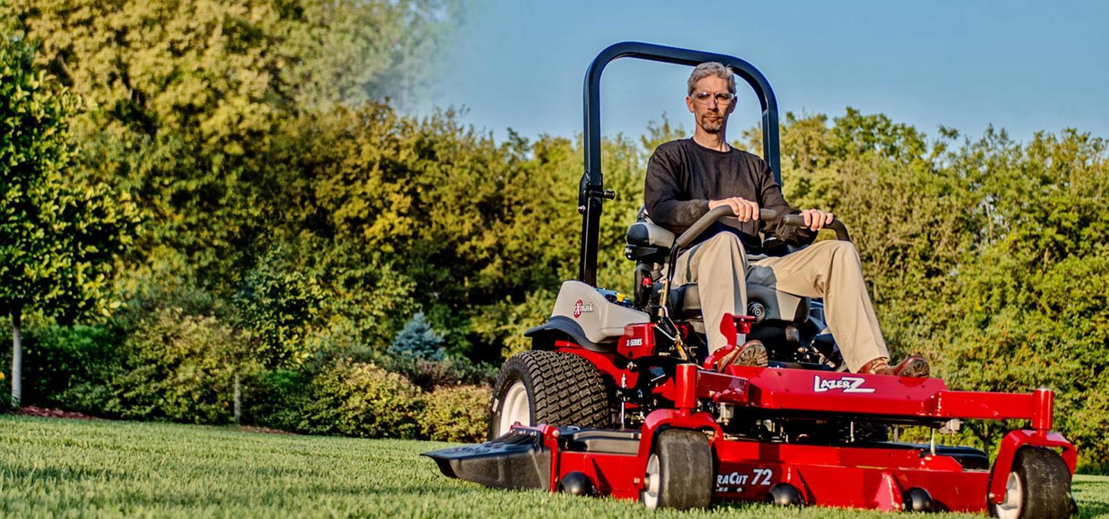 Exmark lawn mowers