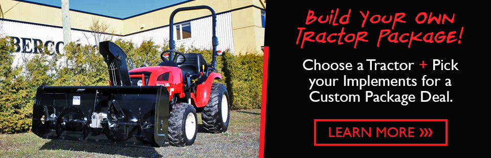 Custom Branson Tractor Package Deals