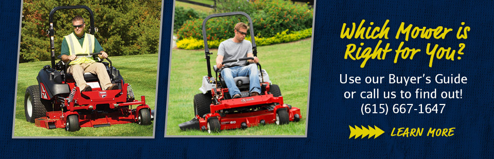 Residential Mower Buying Guide