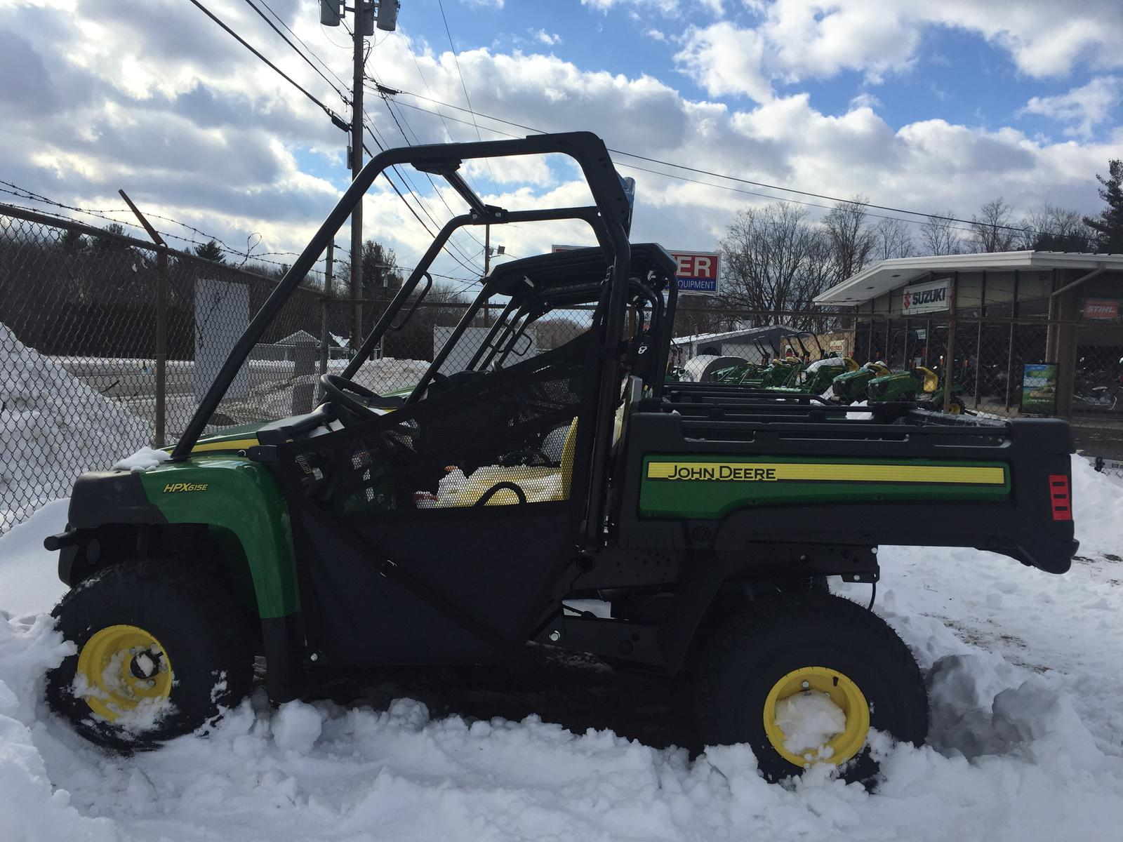 john deere new 2018 john deere gator hpx 615e for sale in granby, ma