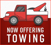 Now Offering Towing