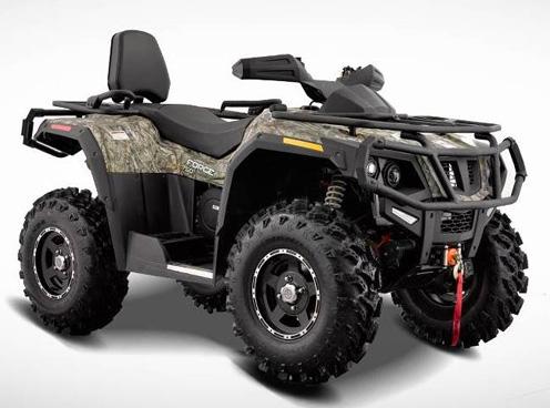 Hisun Forge ATVs