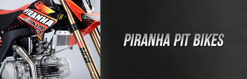 piranha pit bikes