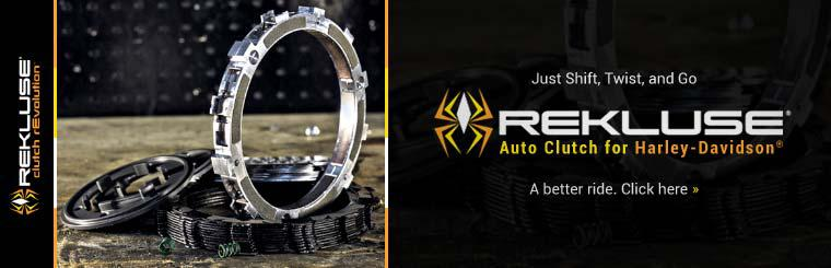 Rekluse Auto Clutch for Harley-Davidson®: Click here for details.
