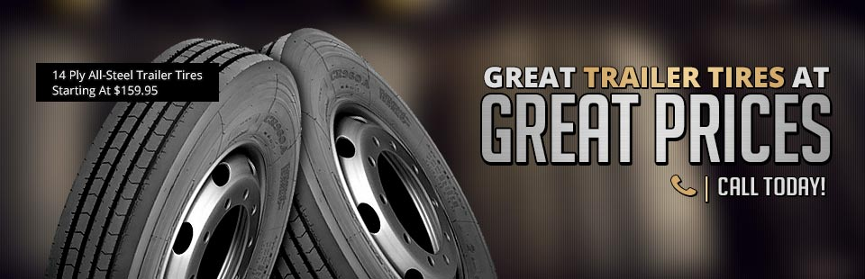 Great Trailer Tires at Great Prices