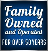 Family owned and operated for over 50 years.