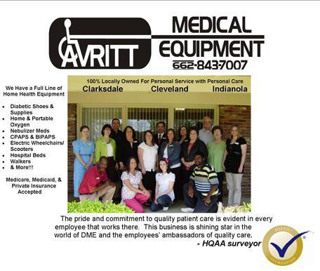 Avritt Medical Equipment