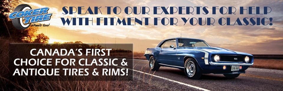 Antique and Classic Tires, Wheels, and Rims at Queensway Tire