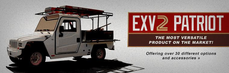 The EXV2 Patriot is the most versatile product on the market, offering over 30 different options and accessories. Click here to check it out online.