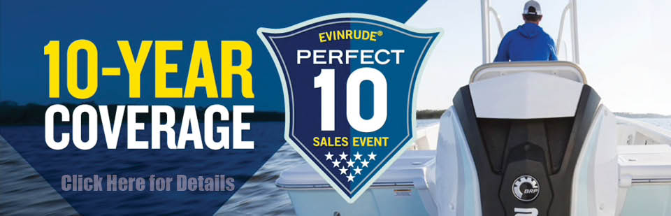 Evinrude 10 Year Coverage
