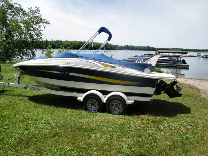 2007 Sea Ray SPORT 195 for sale in Carleton Place, ON   John's