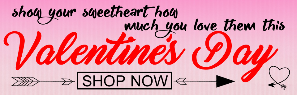 Shop Now For Your Valentine's Day Flowers!