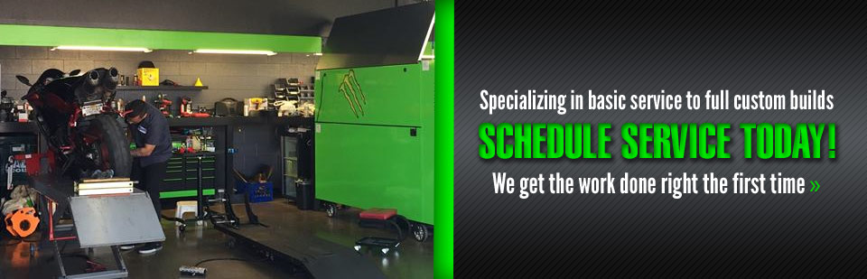 We specialize in basic service to full custom builds, click here to schedule service today!