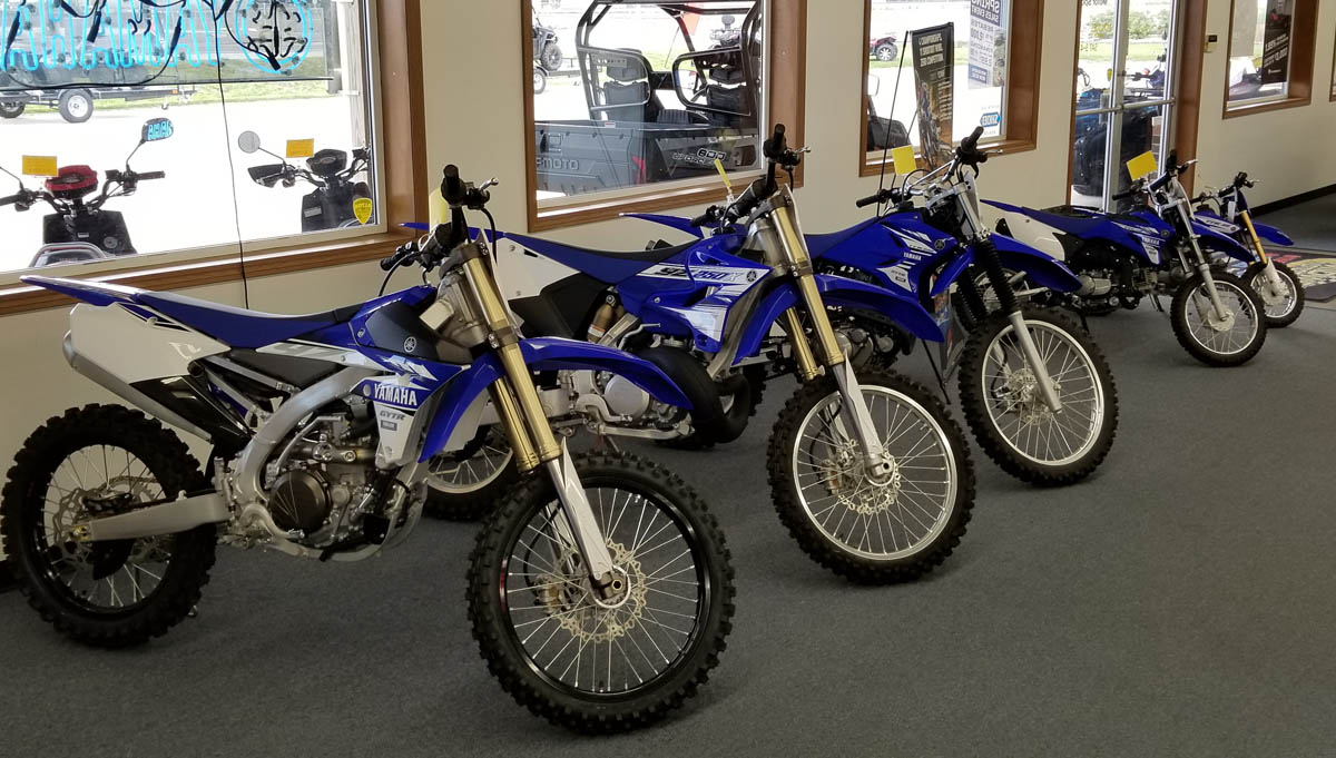 Yamaha Dirt Bikes | Cross Country | Motocross | Off Road | Midwest