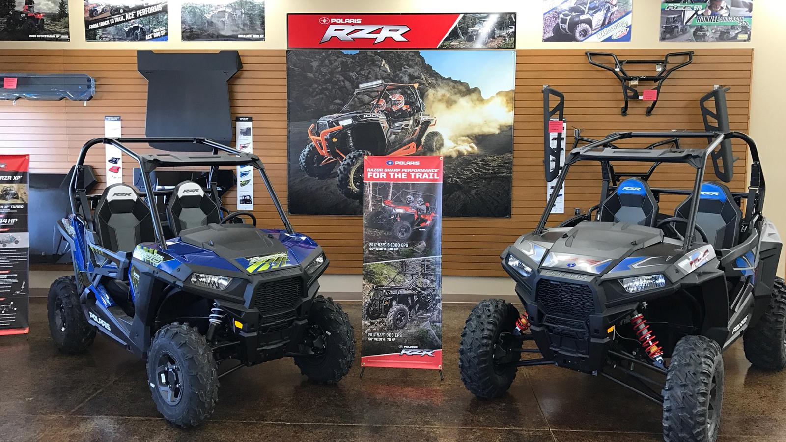 Polaris RZR Side by Sides