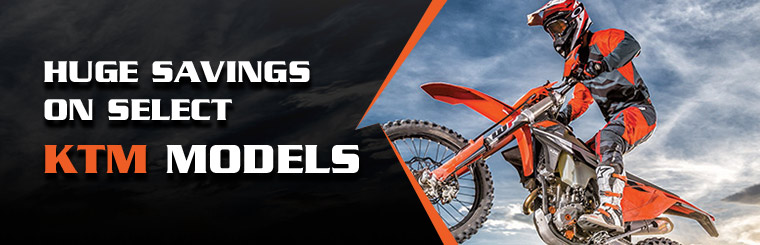 Huge Savings on Select KTM Models at Extreme Powersports
