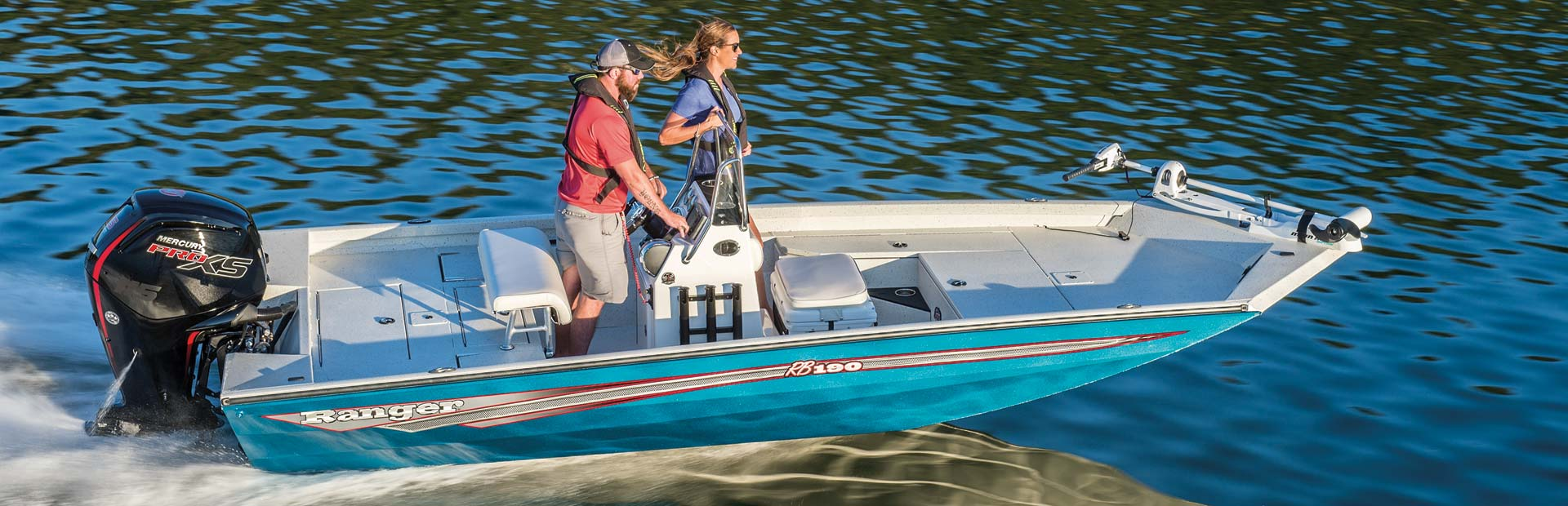 Ranger Boats Blue