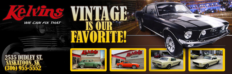 Vintage Cars at Kelvins